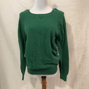 Joe Fresh Sweater Solid Green Long